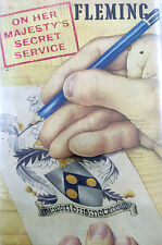 ON HER MAJESTY'S SECRET SERVICE  BY IAN FLEMING *FIRST BRITISH EDITION*