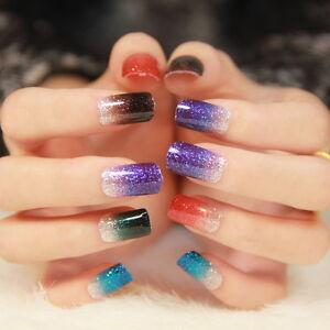 Self-Adhesive-Nail-Wrap-Art-Stickers-Nail-Foil-Nail-Tip-Polish-Strip-Glitter