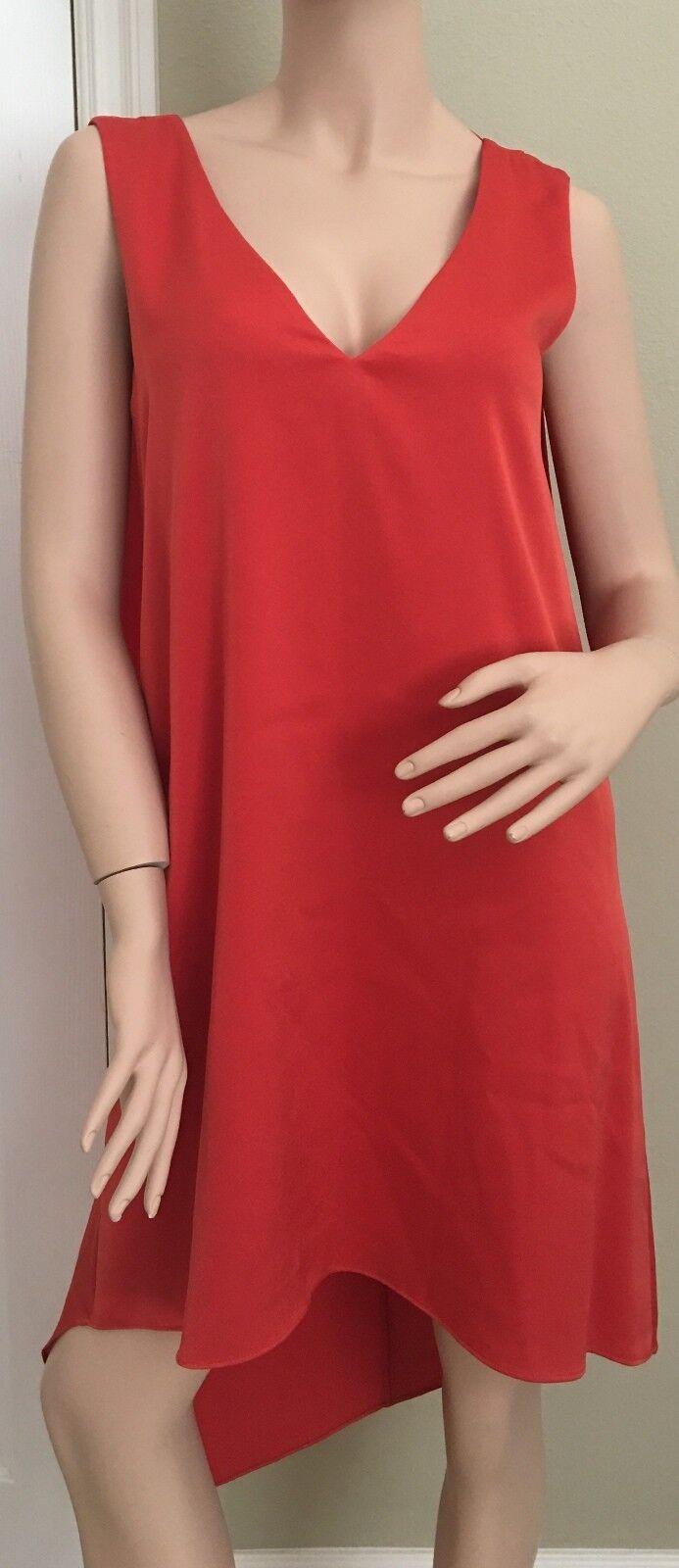 BCBGMax Azria Women's Shana Woven Cascade Dress Dress Dress size  X-Small  msrp  228 12fa8f