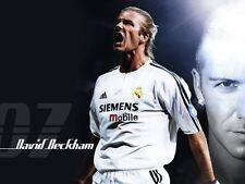 POSTER DAVID BECKHAM MILAN MANCHESTER FOOTBALL SOCCER 5