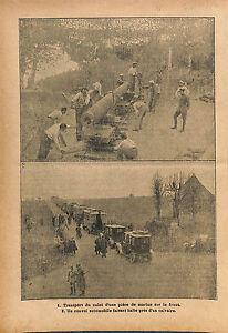 Transport-Culot-Piece-de-Marine-Canon-Bataille-de-la-Somme-WWI-1916-ILLUSTRATION