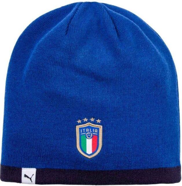 Puma Beanie Italia  Wintermütze  Strickmütze  Reversible Wendbar   Licensed FIGC