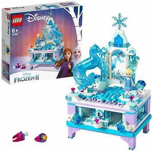 Lego-Disney-Princess-Trinket-Box-Creative-Elsa-Set-of-Construction-Toy-Frozen-2