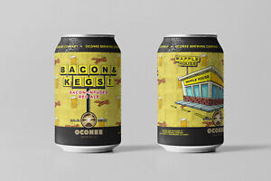 Bacon-amp-Kegs-EMPTY-12oz-beer-can-infused-red-ale-Waffle-House-Oconee-Brewing