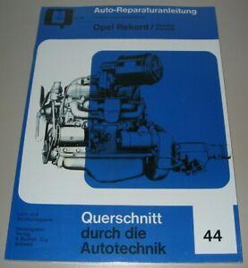 Reparaturanleitung-Opel-Rekord-Olympia-P1-P2-Caravan-1953-1963-Buch-NEU