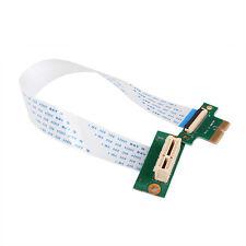 Flexible PCI-e PCI Express 36PIN 1X Extender Extension Adapter cable debug Tool