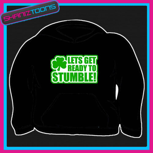 IRISH FUNNY ST PATRICKS DAY STAG DO HOODIE GREAT GIFT