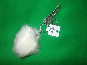 White-Fluffy-Pom-Pom-Keyring-Pom-Pom-Squad-Unwanted-Gift