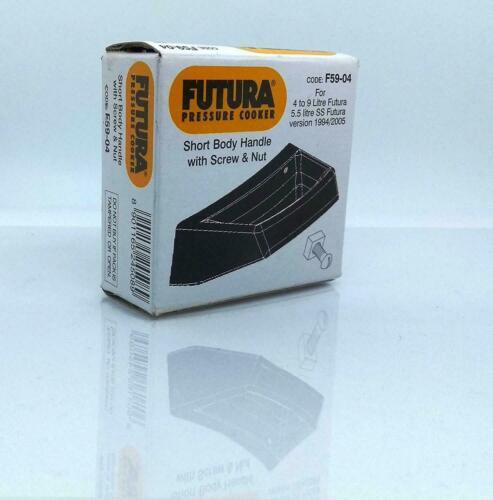 Hawkins Pressure Cooker Short Body Handle With Screw /& Nut 4-9 L Futura F59-04
