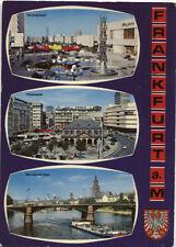 Alte Postkarte - Impressionen von Frankfurt am Main