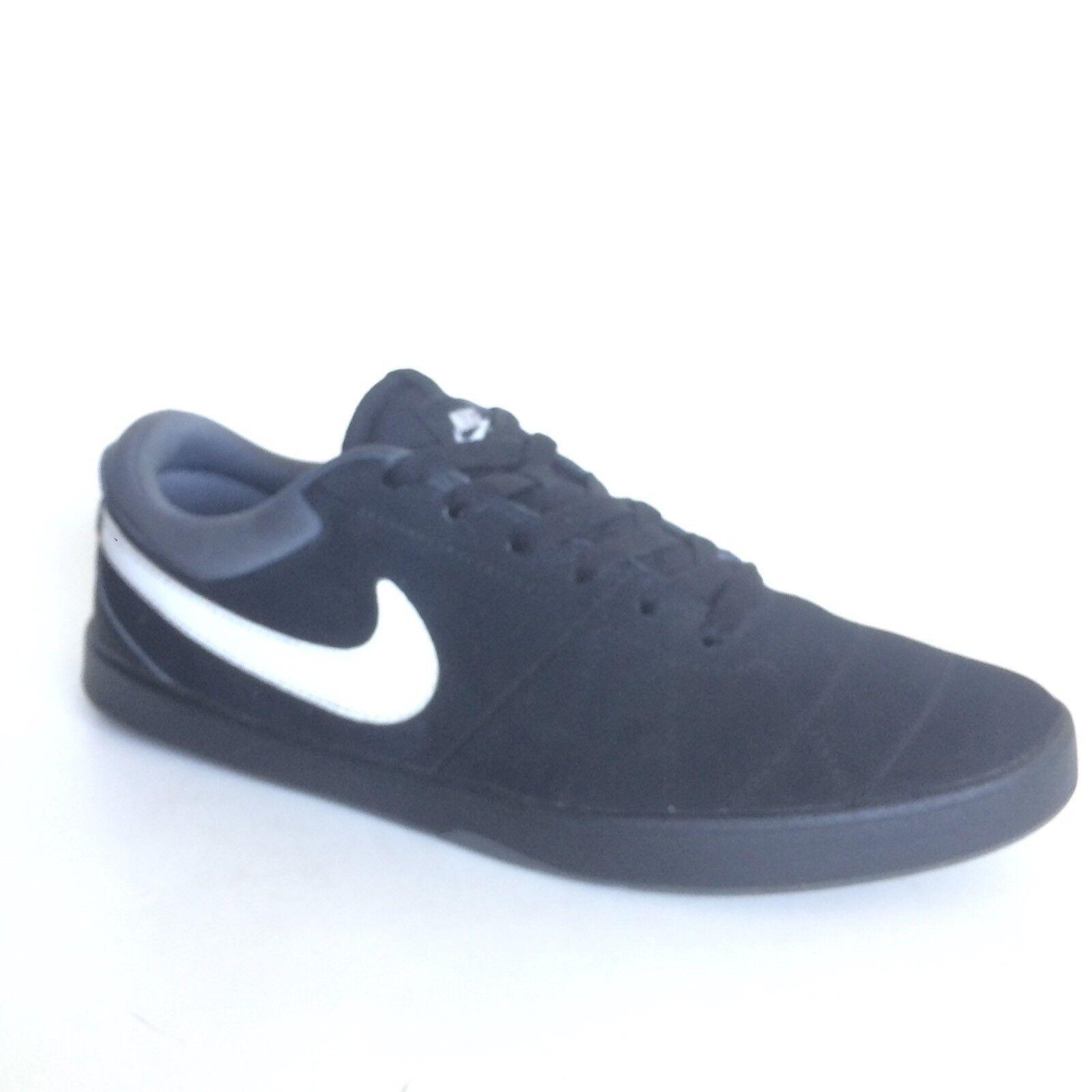 Nike SB Skateboarding Shoes Size 10 Black Leather Rabona Sneakers