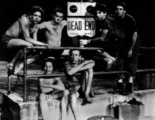 Dead End Group Picture in Black and White High Quality Photo