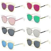 Eyewear Women Retro Vintage Shades Fashion Frame Cat Eye Sunglasses Zd