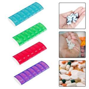 Pillendose Wochenspender Tagesspender Pillenbox,Tablettendose,Tablettenbox