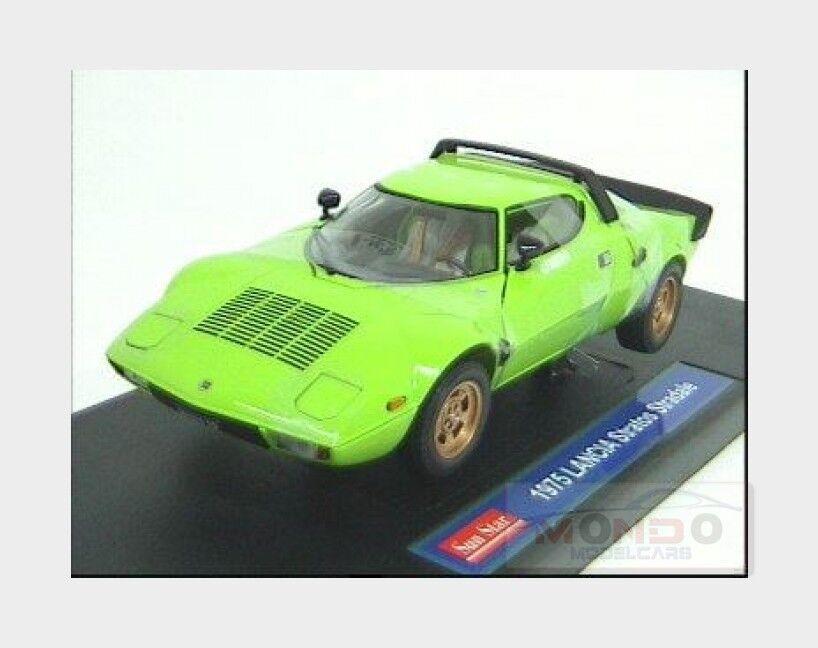 Lancia Stratos Stradale 1975 verde SUNSTAR 1 18 SS4522