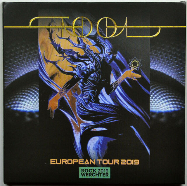 TOOL Live European Tour 2019 ROCK WERCHTER FESTIVAL 2CD set in digisleeve SEALED
