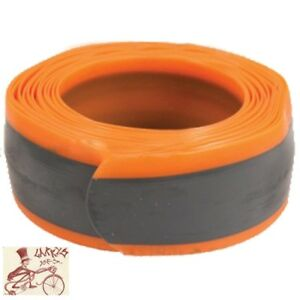 SUNLITE-26-034-29-034-x-1-9-2-35-034-ORANGE-BICYCLE-TIRE-LINERS-TUBE-PROTECTORS-1-PAIR