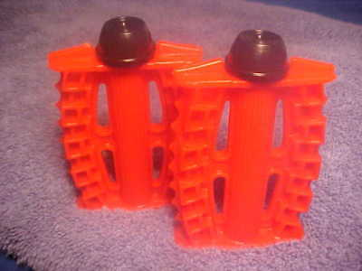 """Vintage Red 1//2/"""" ID Tricycle Pedals Elgin Colson Murray Huffy Amf nos"""