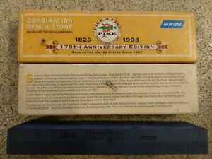 Norton-Combination-Bench-Stone-Used-In-Box-Sharpening-Stone