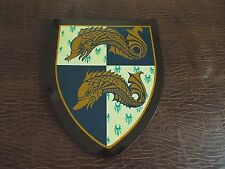 Family Crest, Coat of Arms, Family history, Genealogy, Hanger Serpent, Fish,