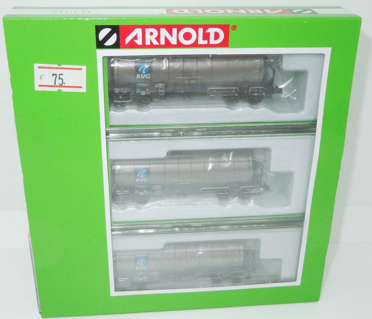 Arnold Spur N 6319 Kesselwagenset KVG