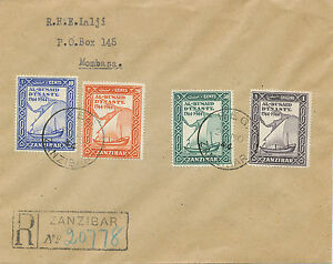 2049-ZANZIBAR-1944-20th-Nov-200-Years-Dynasty-Al-Busaid-very-rare-superb-R-FDC
