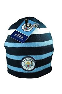 e6d70f26297 Image is loading Manchester-City-Beanie-Hat-Cap-Winter-Soccer-Official-
