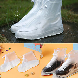 Details About Unisex Outdoor Waterproof Protector Shoes Boot Cover Rain Shoe Covers Anti Slip