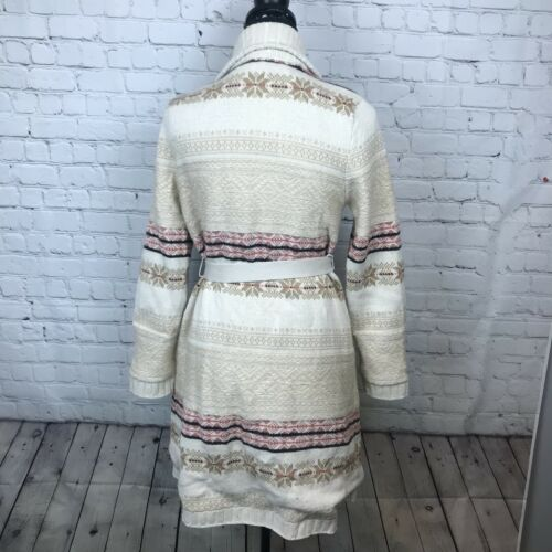 Robe van Eloise Beige Xss Fireside Sweaterknit Sash Sweater Anthropologie Nip Pk8nOw0