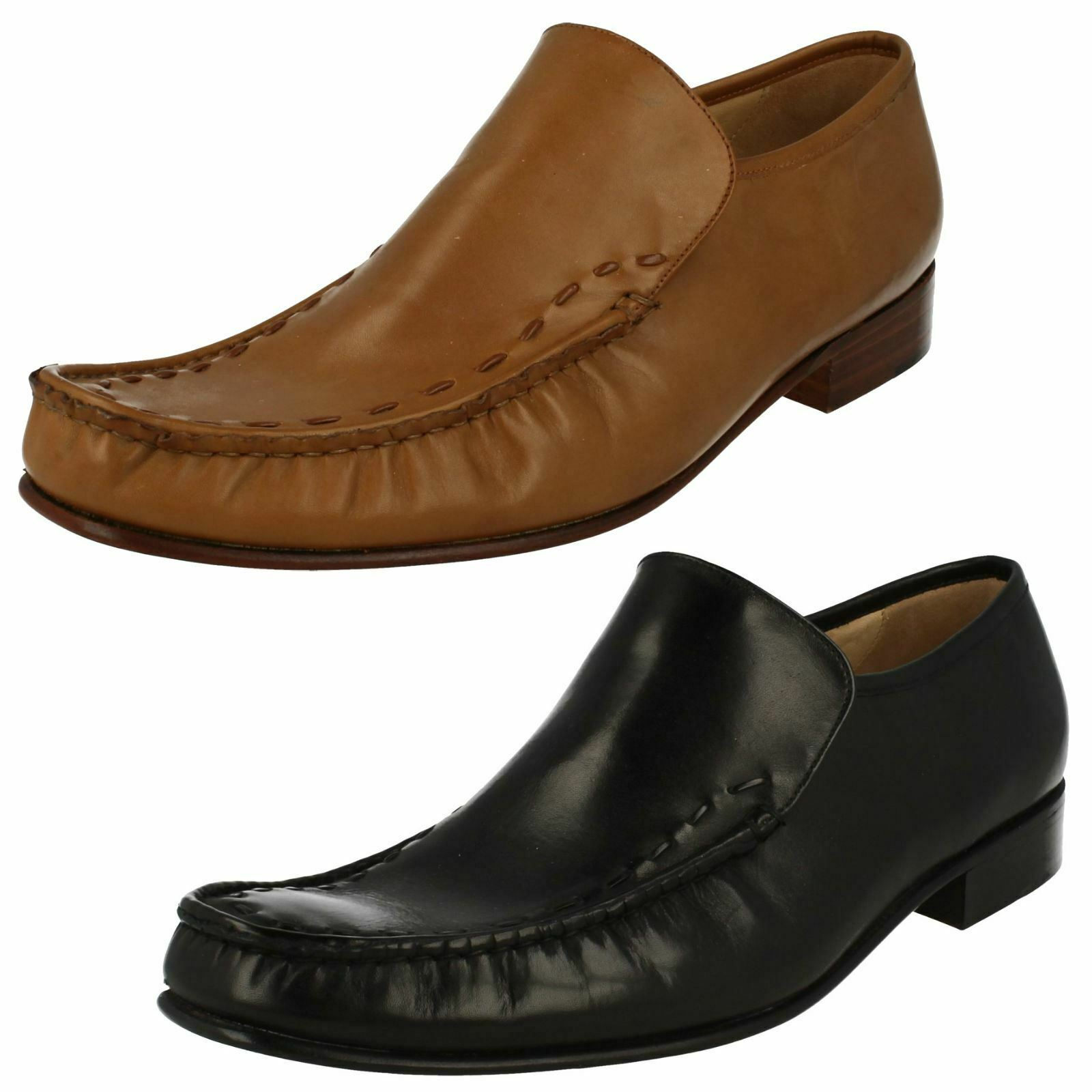 Homme FeatherMaster de Grenson Moccasin Chaussures Maine