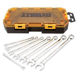 DEWALT-8pc-Stackable-Combination-Wrench-Set-SAE-DWMT73809-New