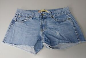 OLD-NAVY-WOMENS-DISTRESSED-JEAN-SHORTY-SHORTS-ULTRA-LOW-WAIST-SIZE-6