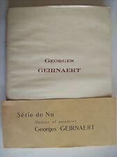 Georges Geirnaert peintre belge nu peinture flamande Flandre Gand Gent histoire