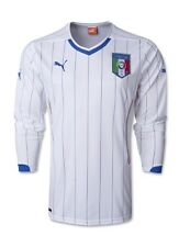 Original Puma Italien Nationalmannschaft 2014  Langarmtrikot  XL Spielerversion