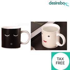 Heat Sensitive Morning Mug Changing Color Cup Tea Coffee Magic Cold Hot Reactive