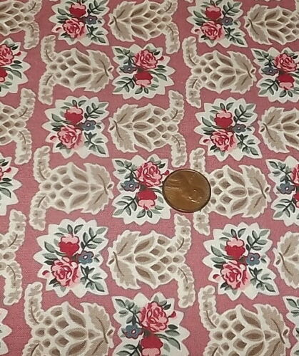Quilt Fabric Pink Tones 1//4 yard piece