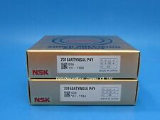 Nsk 7015a5tynsulp4y Abec 7 Super Precision Spindle Bearings Matched Set Of 2