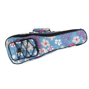 Ukulele Gig Bag Ukulele Tasche für Musikinstrument Zubehör 23 Zoll blau