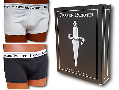 Contemplativo Cesare Paciotti. Boxer Uomo Elastico Esterno Article 03. 95% Cotone - 5% Elastam