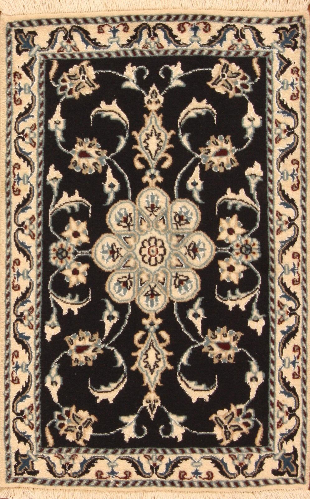 TAPPETO Orientale Vero Annodato Tapis persan (90 (90 (90 x 60) cm Nuovo 688 8bbbf1