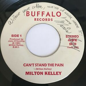Milton-Kelley-Can-039-t-Stand-the-Pain-45rpm-VG-SIGNED