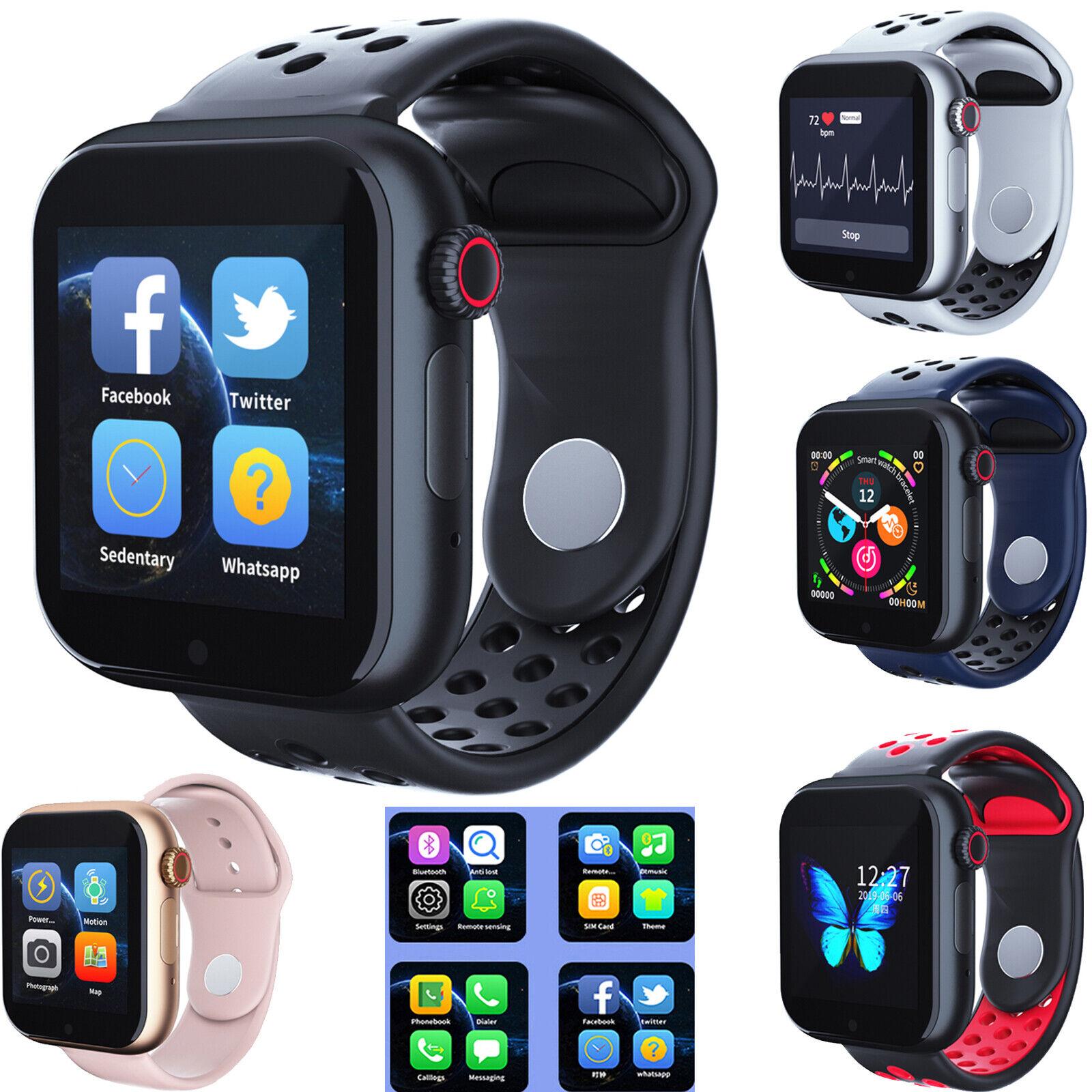 Bluetooth Smart Watch Phone GSM SIM Heart Rate Sleep Monitor Sports Wristwatch bluetooth Featured gsm heart monitor phone rate sim sleep smart watch
