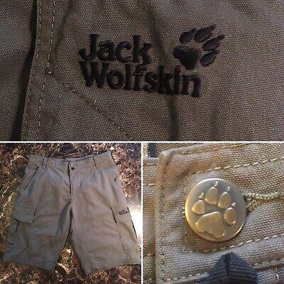 kup najlepiej nowe obrazy popularne sklepy JACK WOLFSKIN Men's Cargo Outdoor SHORTS SIZE M 33 ~ Hiking Running | eBay