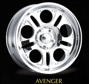 """20x8"""" Centerline Forged Aluminum Wheels. Avenger Style, 6-5.5 Bargain!"""