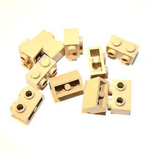 10x Lego ® Brique 1x2 avec 2 latéral d'11211 Nouveau Beige Tan Sable  </span>