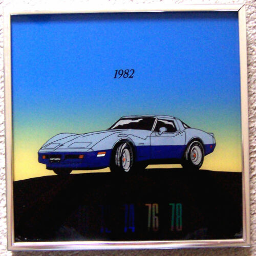 THERMOMETER 1982 CORVETTE TWOTONE BLUE