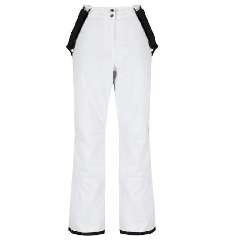 Womens DARE2B STAND II FOR White Stretch Ski Pants Sizes 8 - 20 REGULAR LEG