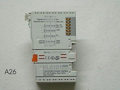 1MHz, BECKHOFF KL5111 Inkremental-Encoder-Interface 24V DC max