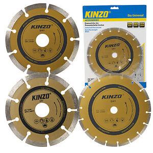 Kinzo Universal Diamond Cutting Disc Dry Metal Blade Stone