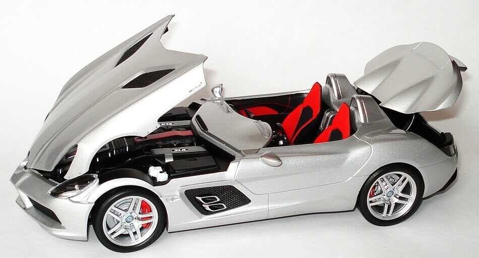 Muy raras Mercedes SLR McLaren Stirling Moss 1 18 Minichamps (Distribuidor Modelo)